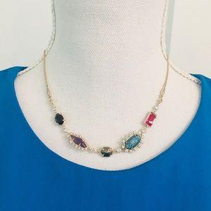 Kendra Scott JUNE Multi Length Gemstone Necklace